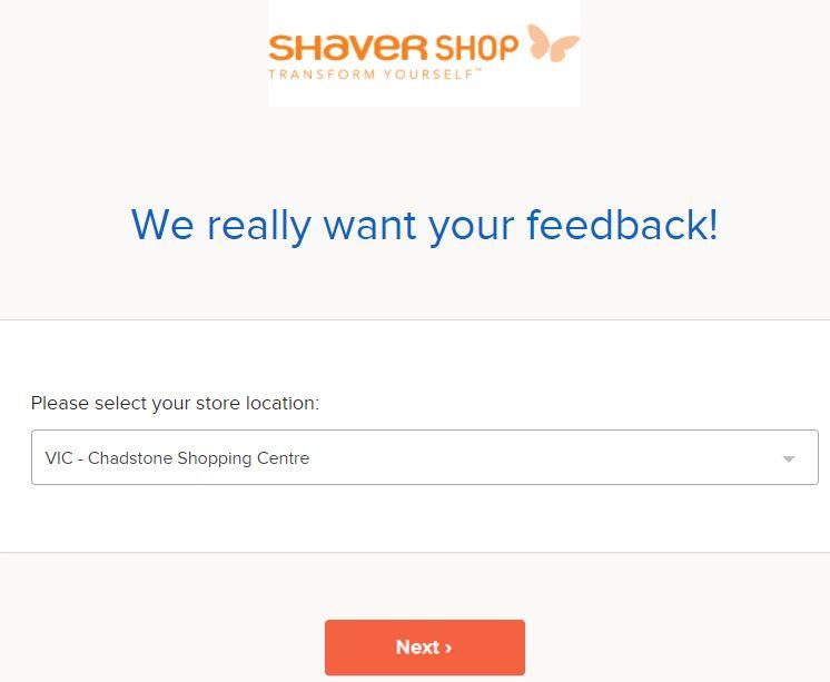 Shaver ShopSurvey