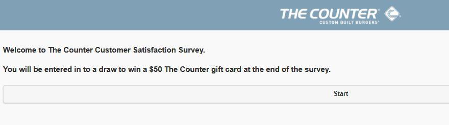 the counter survey