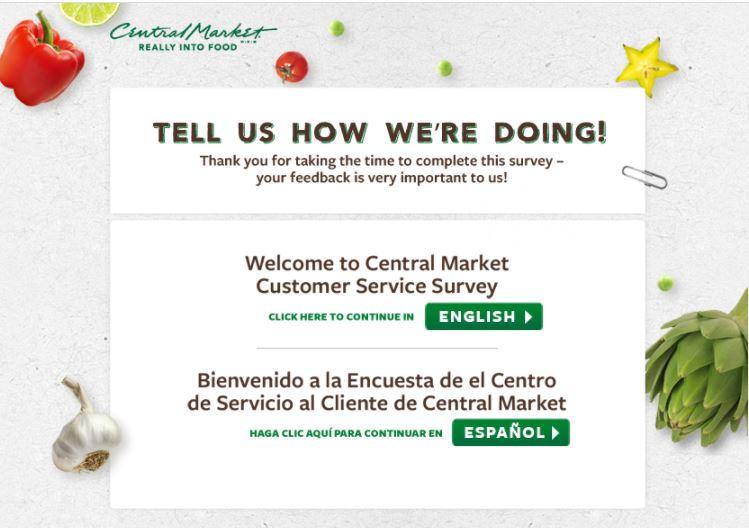 Central MarketSurvey
