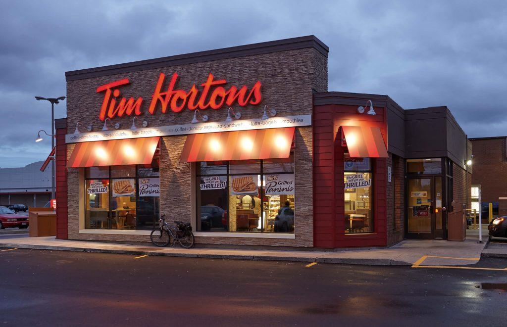 Tim Hortons Menu With Prices 2021